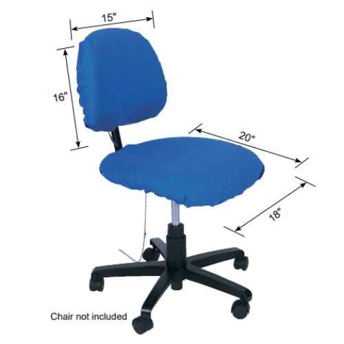 Medidas estándar de Funda de silla disipativa